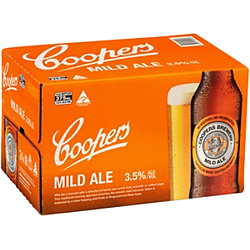COOPERS MILD 375ML STUBBIES - GO INTO THE DRAW TO WIN A COOPERS DARTBOARD