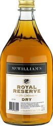 MCWILL ROYAL RES DRY SHERRY 2 LITRE FLAGON
