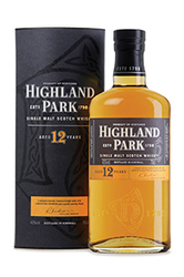 HIGHLAND PARK 12 Y.O. SCOTCH WHISKEY
