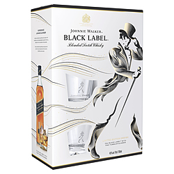 Johnnie Walker Black Glass Gift Pack Gifts Gift Packs Wine