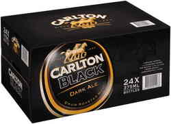 CARLTON BLACK 375ML STUBBIES