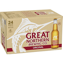 GREAT NORTHERN ORIGINAL 4 2% 330ML STUBBIES - BEER - FULL