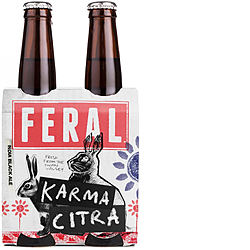 FERAL KARMA CITRA 330ML STUBBIES 4PK