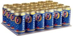 FOSTERS LAGER 375ML CAN