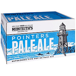 MONTEITHS POINTERS PALE 4.2% STUBBIES