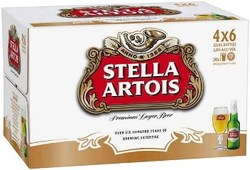 STELLA IMPORTED 330ML STUBBIES