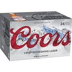 COORS CRISP LAGER 330ML STUBBIES