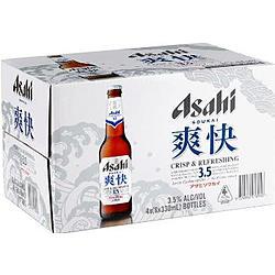 ASAHI SOUKAI 3.5% 330ML STUBBIES