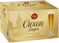 CROWN LAGER 375ML STUBBIES