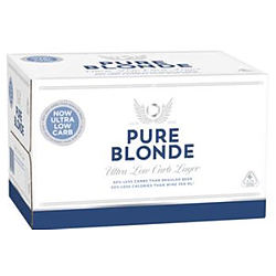 PURE BLONDE STUBBIES - BUY PURE BLONDE AND GO INTO THE DRAW TO WIN A PURE BLONDE BIKE!