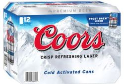 Coors Beer Can Drawing