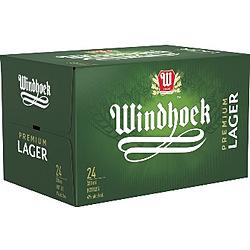 WINDHOEK LAGER 330ML STUBBIES