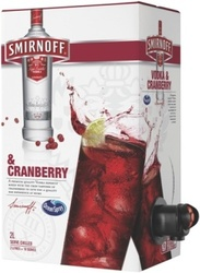 SMIRNOFF VODKA & CRANBERRY 2L