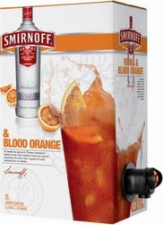 SMIRNOFF VODKA AND BLOOD ORANGE 2LT