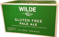 WILDE GLUTEN FREE PALE ALE 330ML STUBBIES