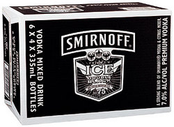 SMIRNOFF ICE DOUBLE BLACK STUBBIES