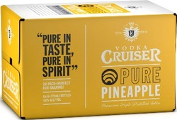 VODKA CRUISERS PURE PINEAPPLE