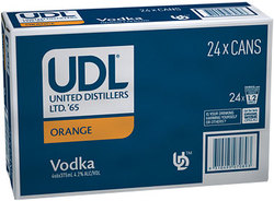 UDL VODKA AND ORANGE