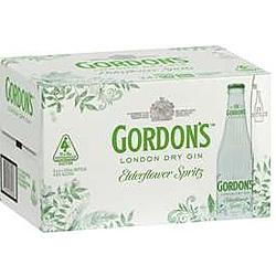 GORDONS ELDERFLOWER SPRITZ STUBBIES