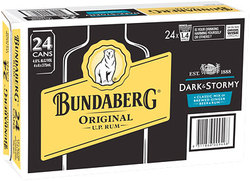 BUNDABERG DARK AND STORMY 5% CANS