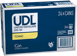 UDL GIN AND TONIC CAN