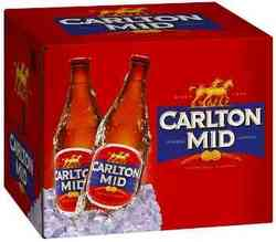 CARLTON MID 750ML BTL 12PK
