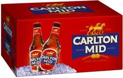 CARLTON MID 375ML STUBBIES