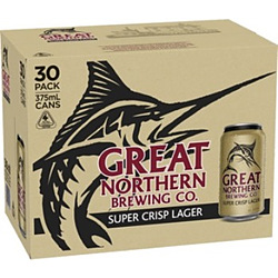 GREAT NORTHERN 3.5% CAN 30PK BLOCK