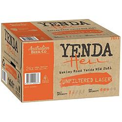 YENDA HELLS 330ML STUBBIES