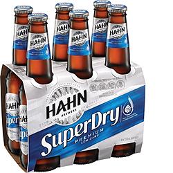 HAHN SUPER DRY 330ML STUBBIES 6PK