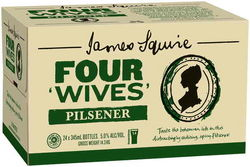 JAMES SQUIRE PILSNER 345ML STUBBIES