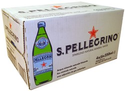 PELLEGRINO MINERAL WATER 250ML 24PK