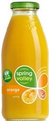 SPRING VALLEY ORANGE JUICE 30PK BTL