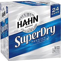 HAHN SUPER DRY 4.6% 375ML CANS