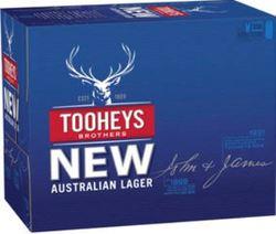 TOOHEYS NEW 375ML CANS 30PK
