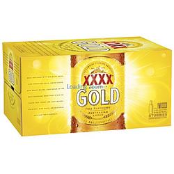 XXXX GOLD 375ML STUBBIES