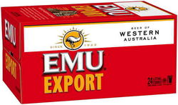 EMU EXPORT 375ML STUBBIES