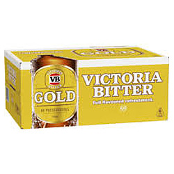 VIC BITTER GOLD 375ML STUBBIES