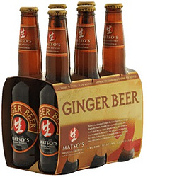 MATSOS ALCOHOLIC GINGER BEER 330ML STUBBIES 6PK