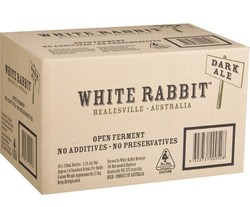 WHITE RABBIT DARK ALE 330ML STUBBIES