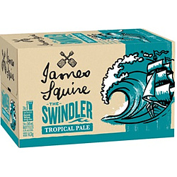 JAMES SQUIRE SWINDLER TROPICAL ALE 345ML STUBBIES