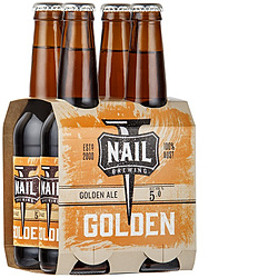 NAIL GOLDEN ALE 330ML STUBBIES 4PK