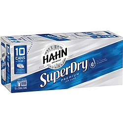 HAHN SUPER DRY 375ML 30PK CANS