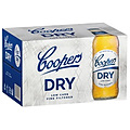 COOPERS DRY 4.2% 355ML BTL 24PK - GO INTO THE DRAW TO WIN A COOPERS DARTBOARD