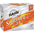 HAHN SUPER DRY 3.5% 30PK CAN BLOCK