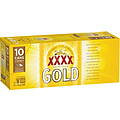 XXXX GOLD 330ML CANS 10PK
