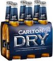 CARLTON DRY STUBBIES 6 PACK