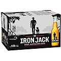 IRON JACK 3.5%  330ML STUBBIES