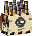4 PINES DRAUGHT 330ML 6PK STUBBIES