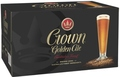CROWN GOLDEN ALE STUBBIES